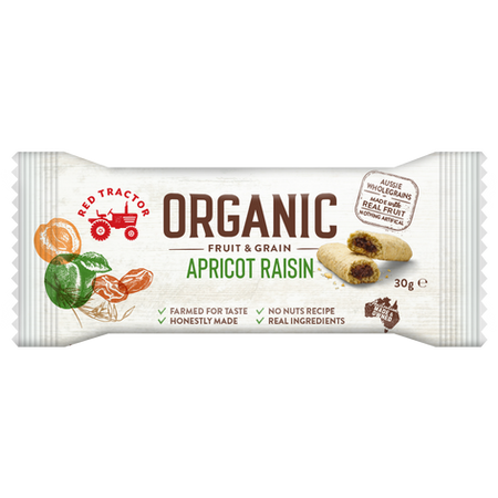 ORGANIC APRICOT RAISIN FRUIT & GRAIN BAR