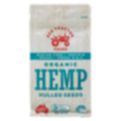 ORGANIC HEMP HULLED SEEDS