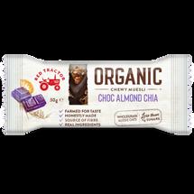 ORGANIC CHOC ALMOND CHIA CHEWY MUESLI BAR