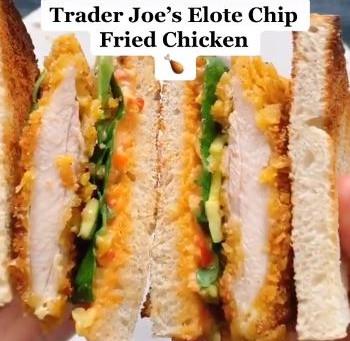 Trader Joe's Elote Chip Fried Chicken Recipe