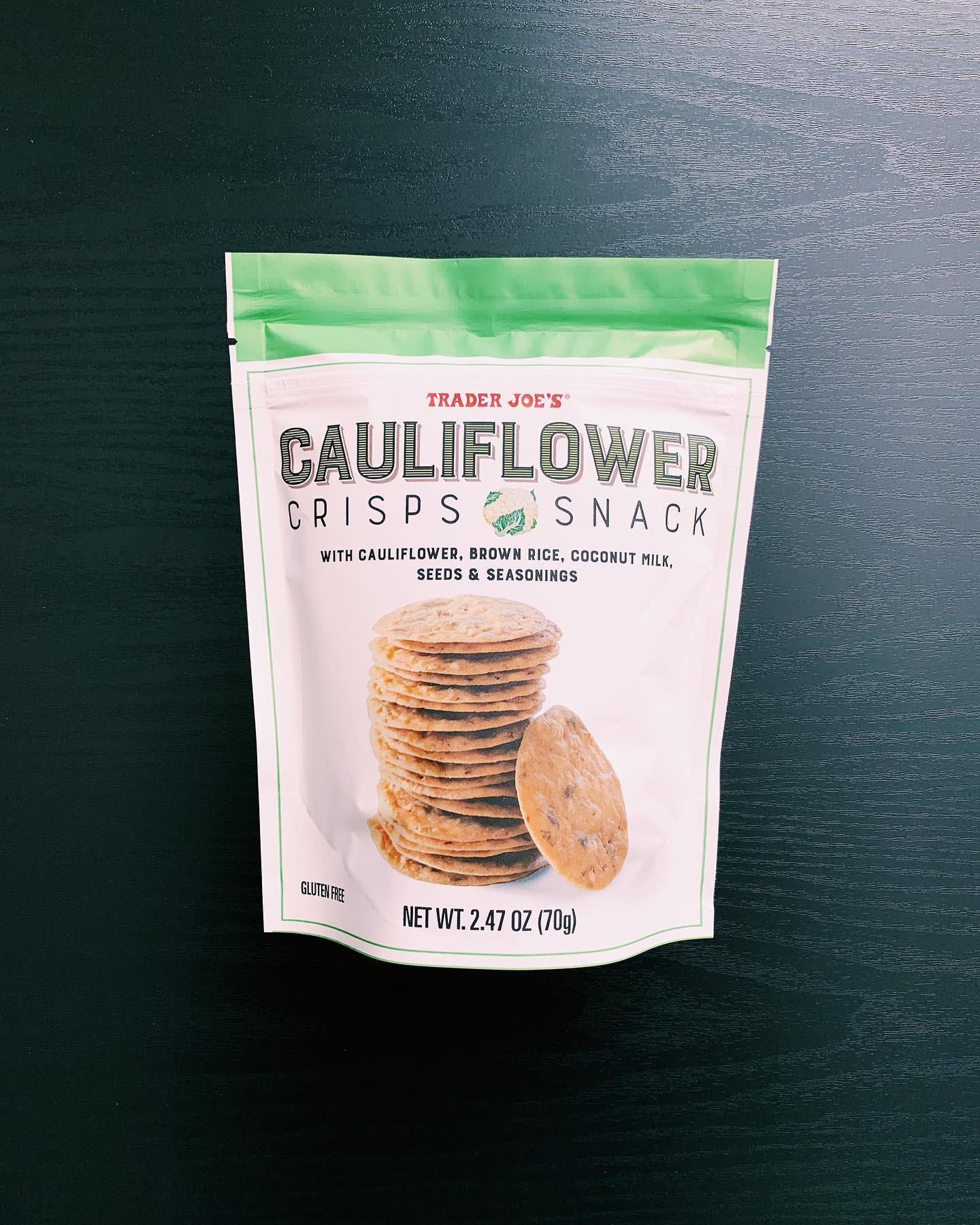 Cauliflower Crisps: 7/10