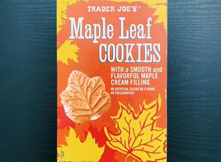 Trader Joe's Maple Leaf Cookies Review