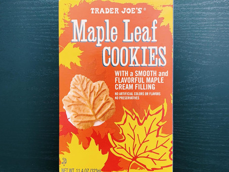 Trader Joe's Maple Leaf Cookies Review
