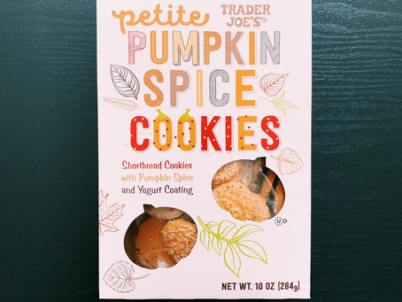 Trader Joe's Pumpkin Spice Cookies Review