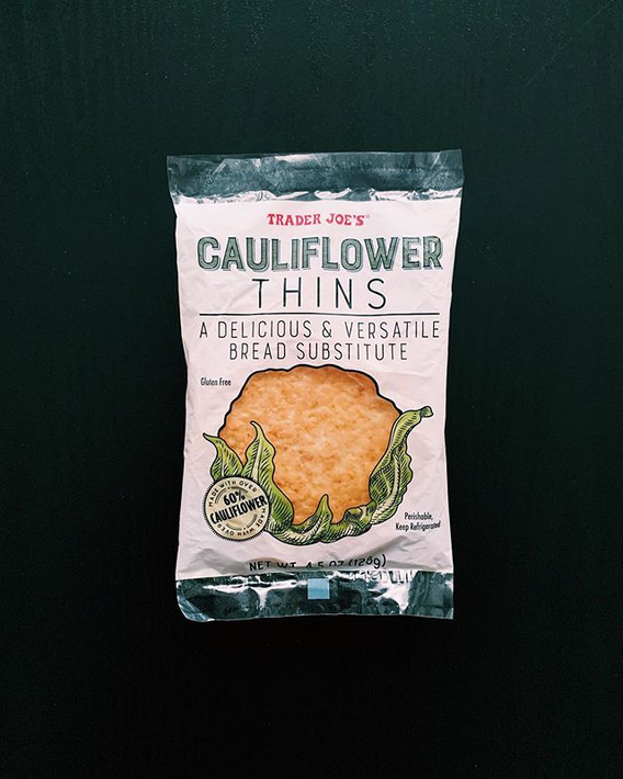 Cauliflower Thins: 8/10
