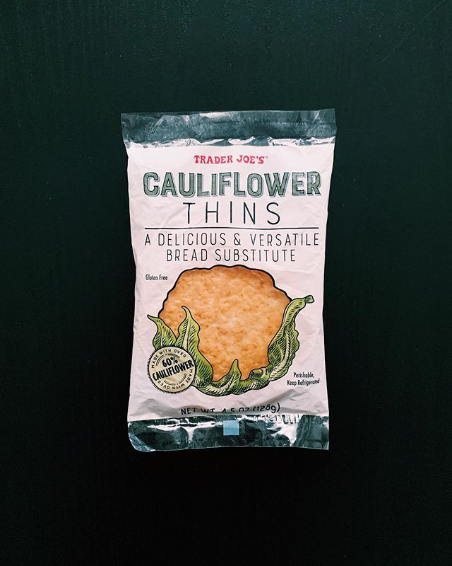 Trader Joe's Cauliflower Thins