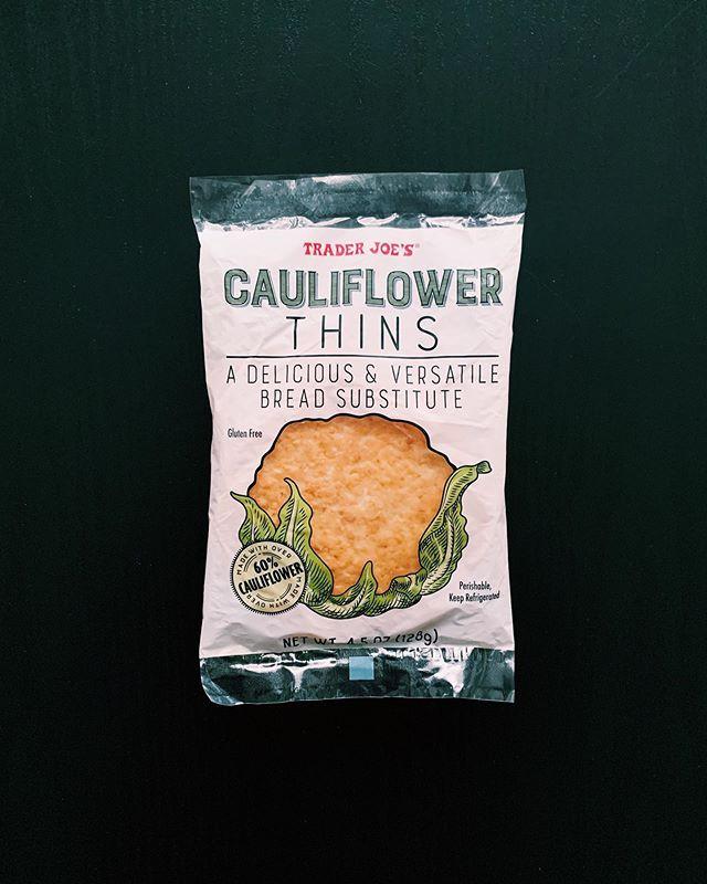 Cauliflower Thins: 8/10