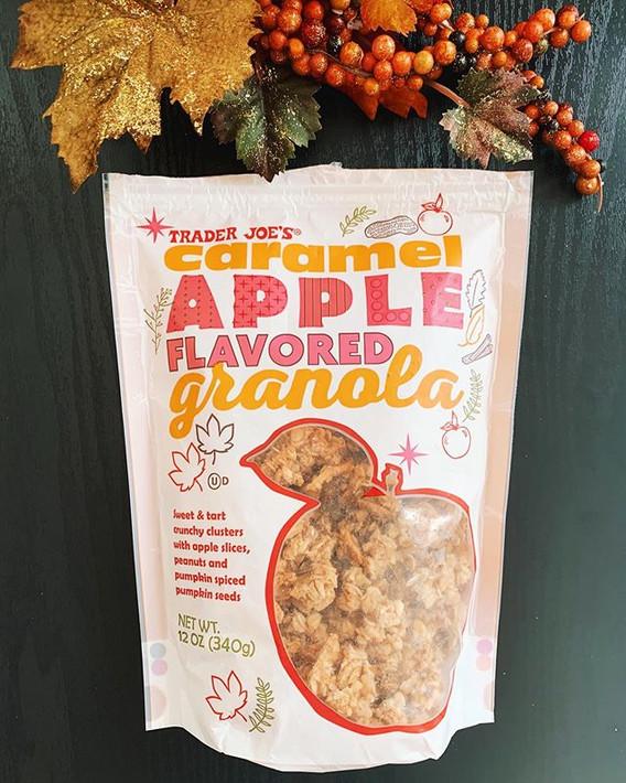 Caramel Apple Granola: 8/10