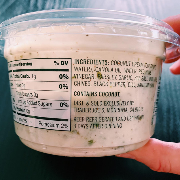 Trader Joe's Vegan Ranch Dip