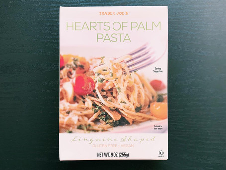 Trader Joe's Hearts of Palm Pasta Review