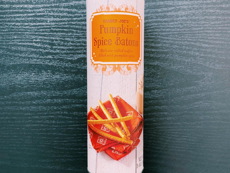 Trader Joe's Pumpkin Spice Batons Review
