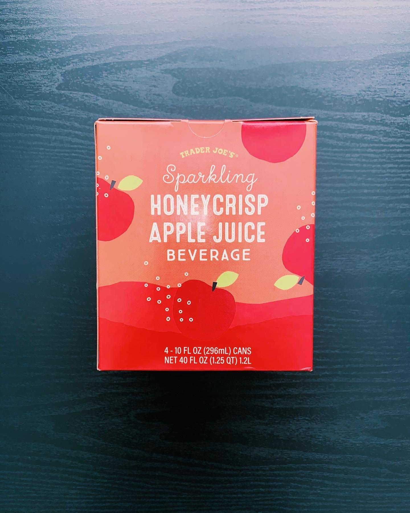 Sparkling Honeycrisp Apple Juice: 9/10