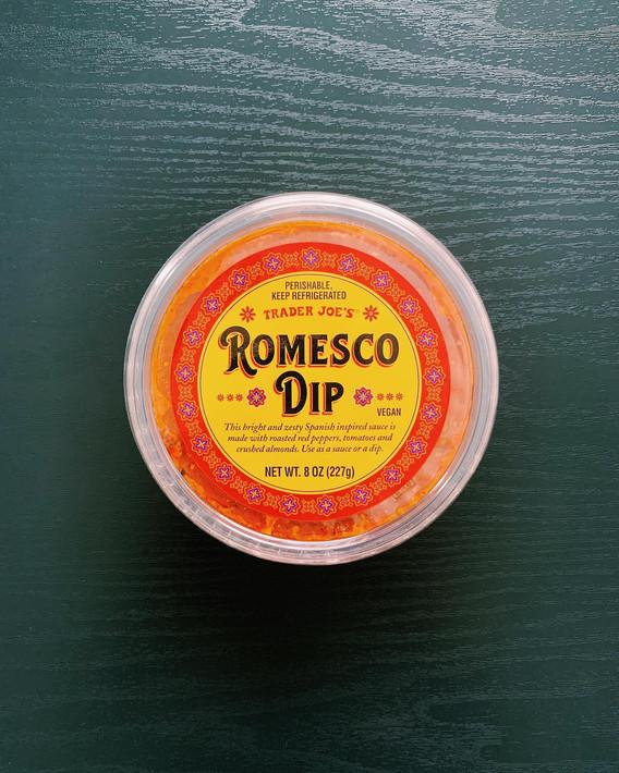 Romesco Dip: 8/10
