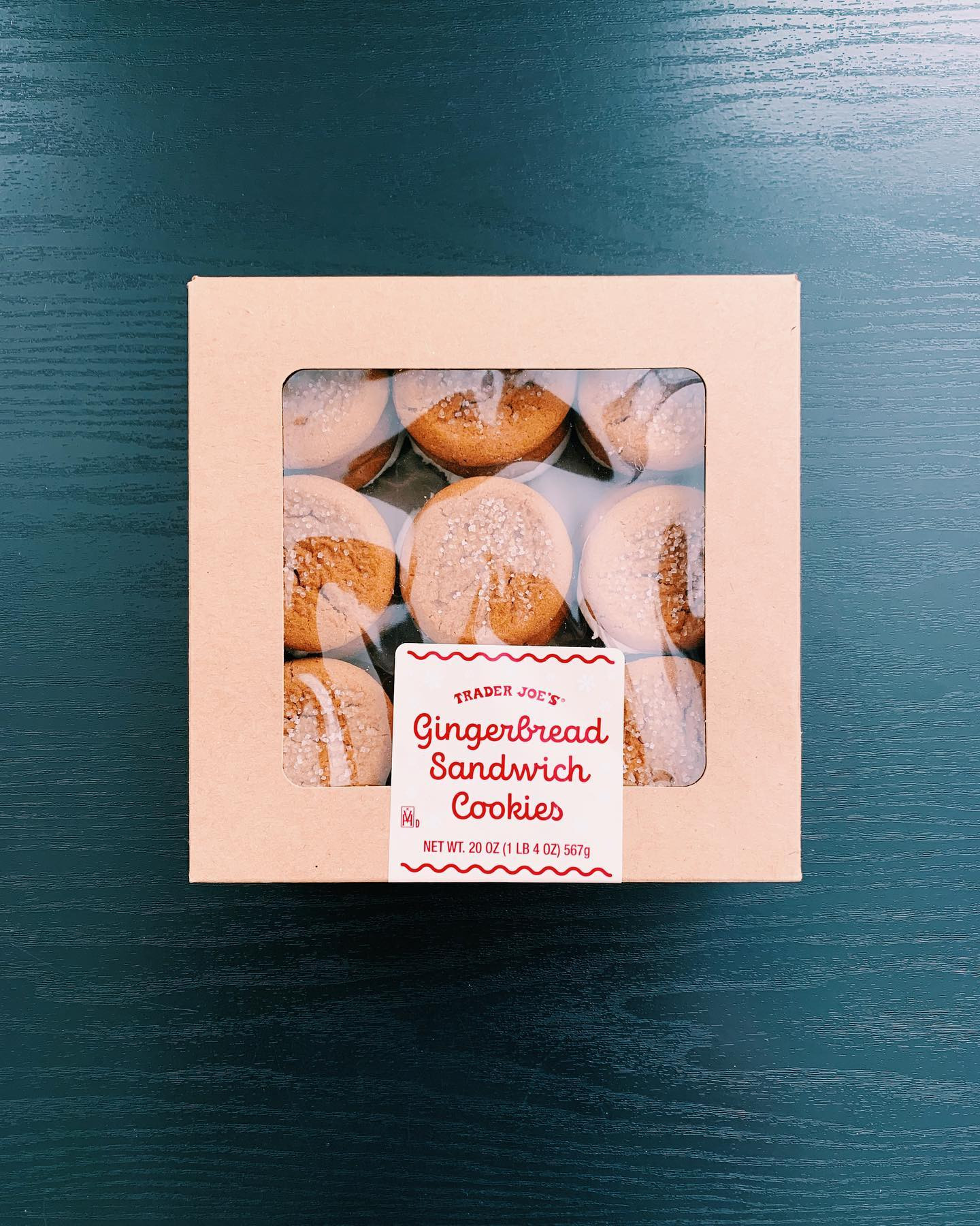 Gingerbread Sandwich Cookies: 9/10