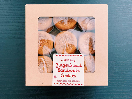 Trader Joe's Gingerbread Sandwich Cookies Review