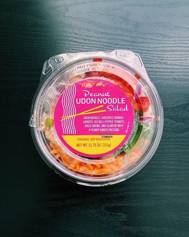 Peanut Udon Noodles: 7/10