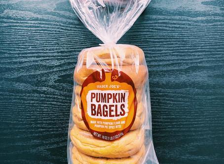 Trader Joe's Pumpkin Bagels Review