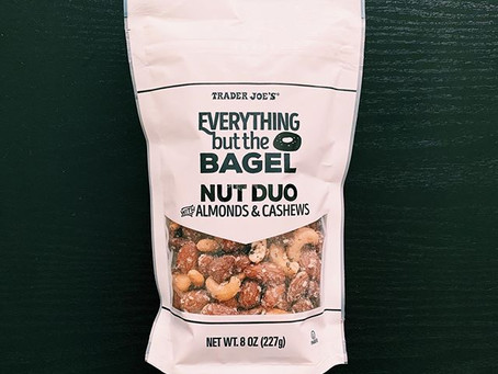 Trader Joe's Everything but the Bagel Nut Duo Review