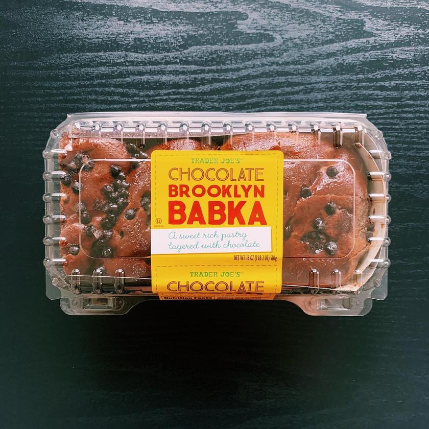 Trader Joe's Chocolate Brooklyn Babka