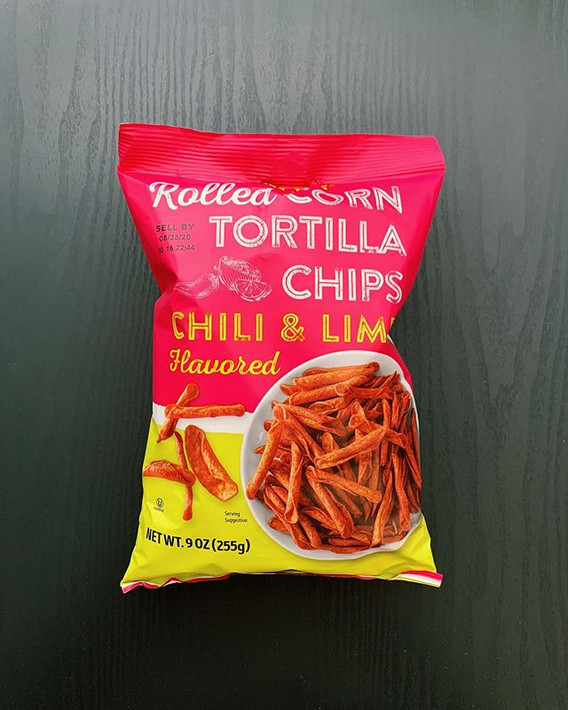 Chili Lime Rolled Tortilla Chips: 8.5/10