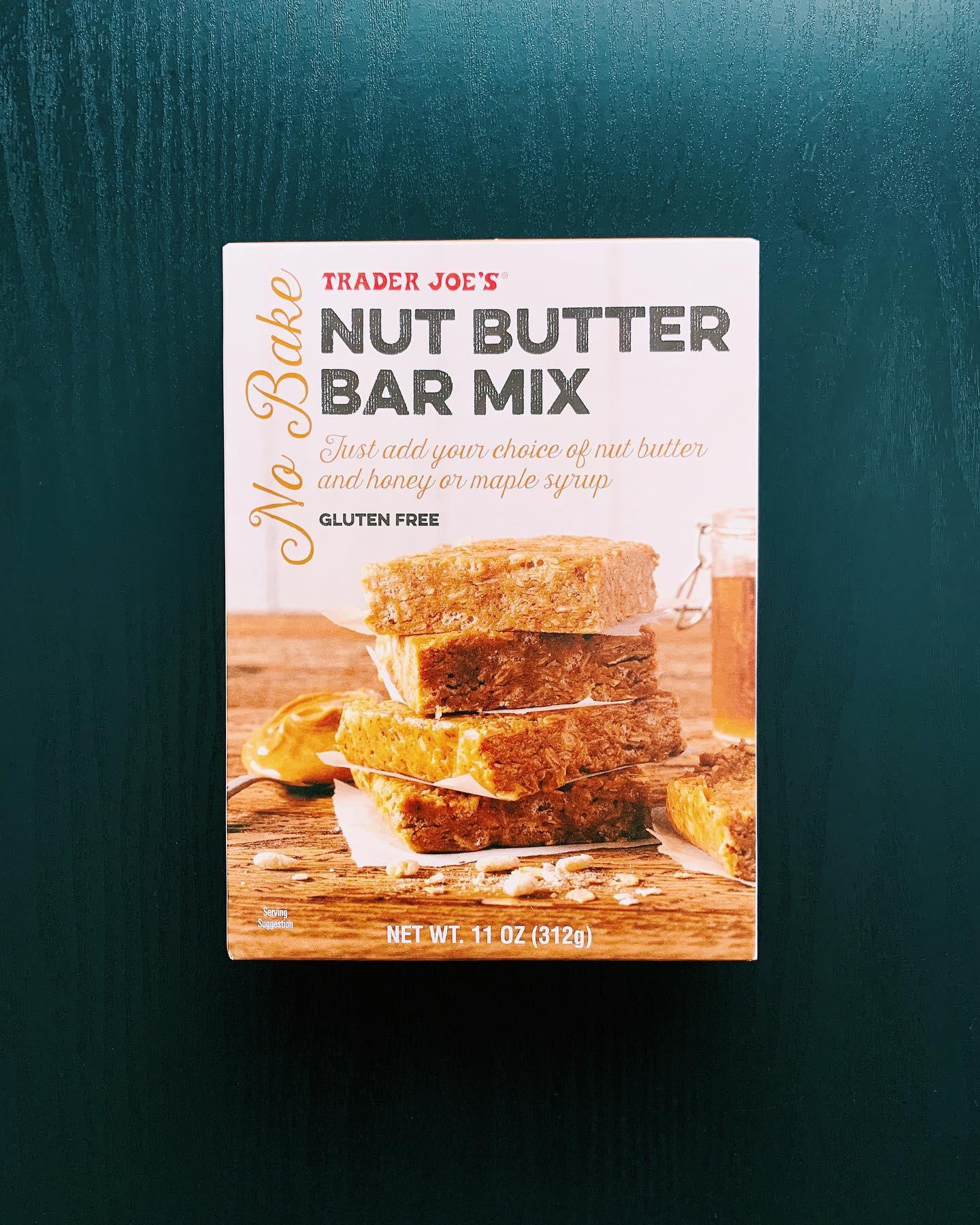 Nut Butter Bar Mix: 7.5/10