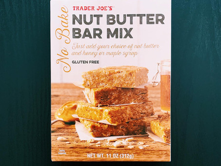 Trader Joe's Nut Butter Bar Mix Review