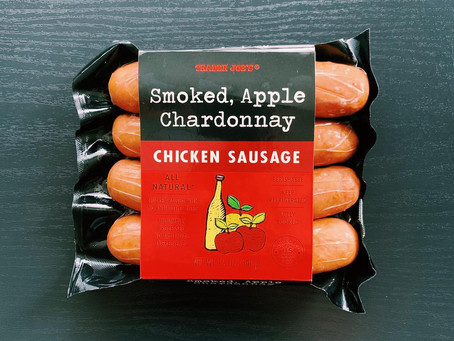 Trader Joe's Smoked Apple Chardonnay Chicken Sausage Review