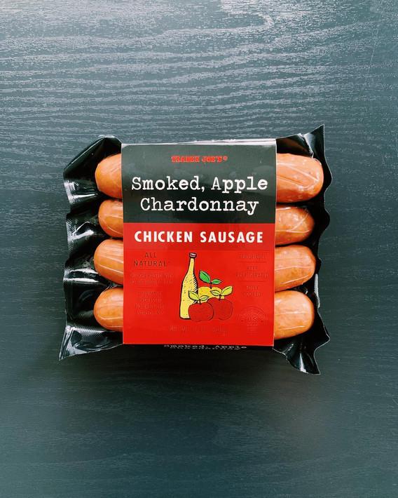 Smoked Apple Chardonnay Chicken Sausage: 8.5/10