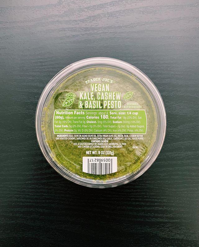 Kale Cashew and Basil Pesto: 8.5/10
