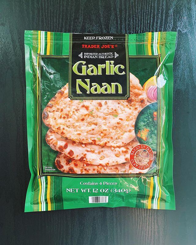 Garlic Naan: 8/10