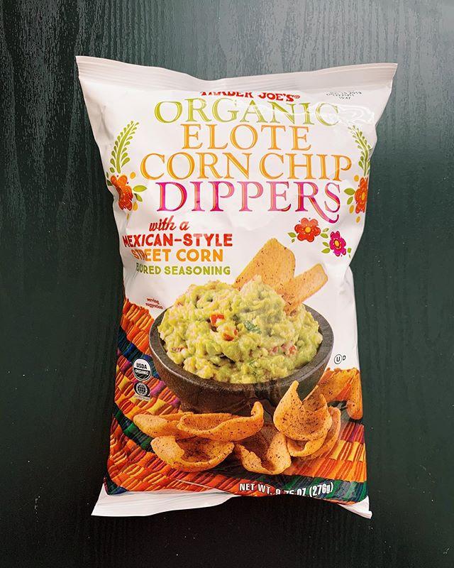 Elote Corn Dipper Chips: 10/10