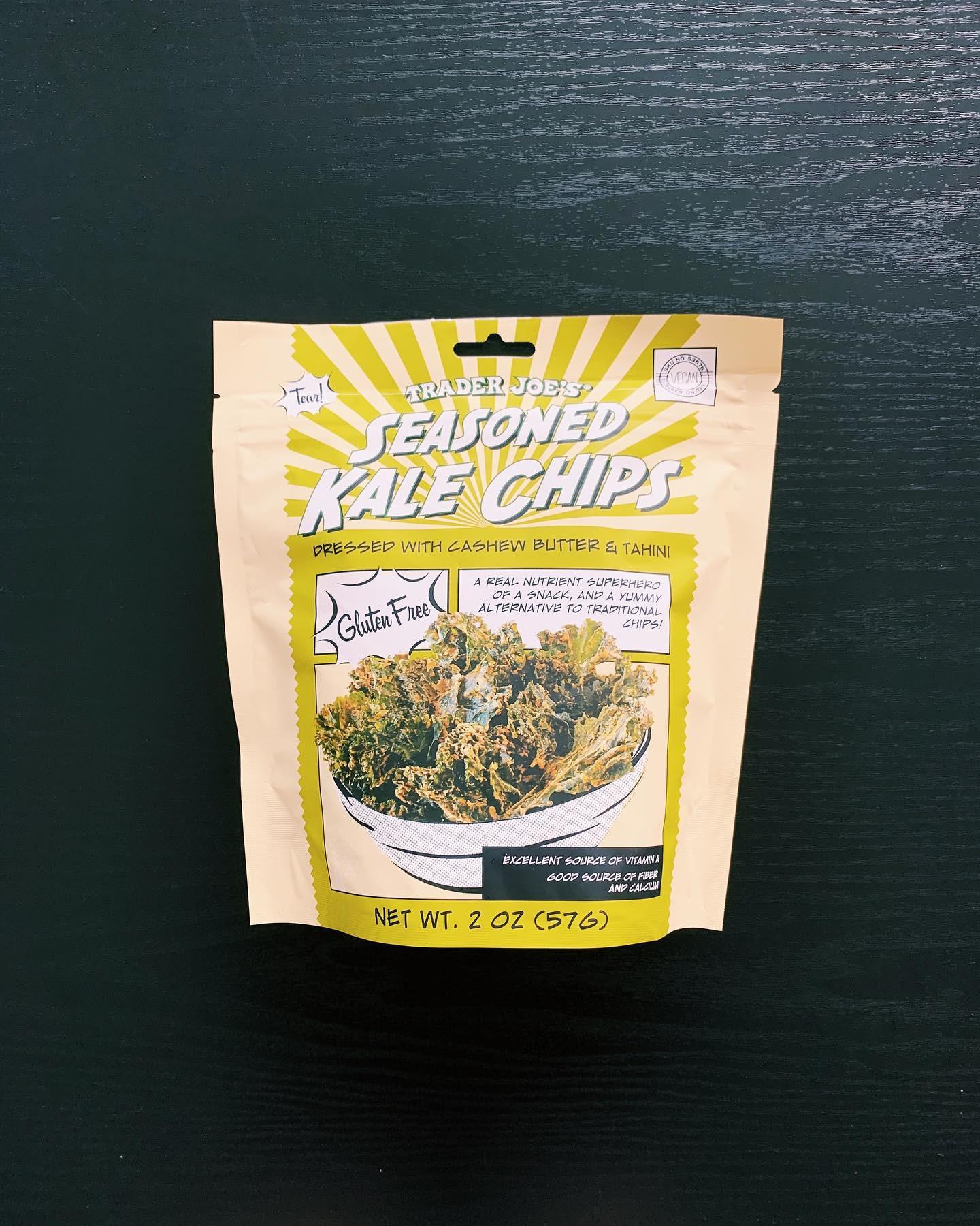 Seasoned Kale Chips: 8/10