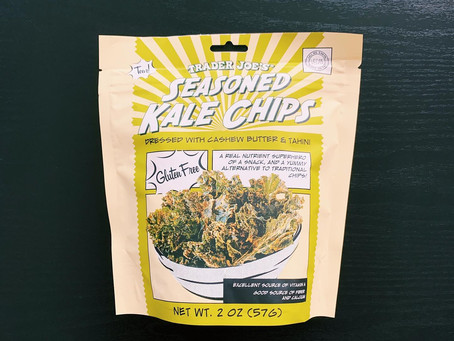 Trader Joe's Kale Chips Review