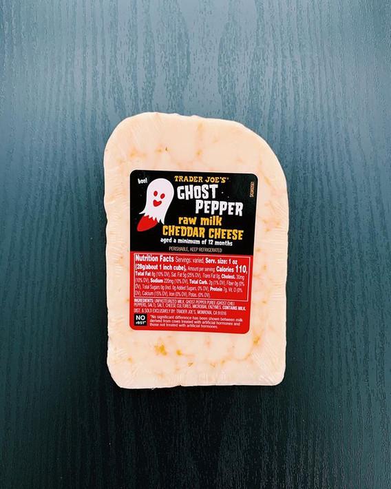 Ghost Pepper Cheddar: 4/10