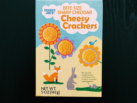 Trader Joe's Sharp Cheddar Cheesy Crackers Review