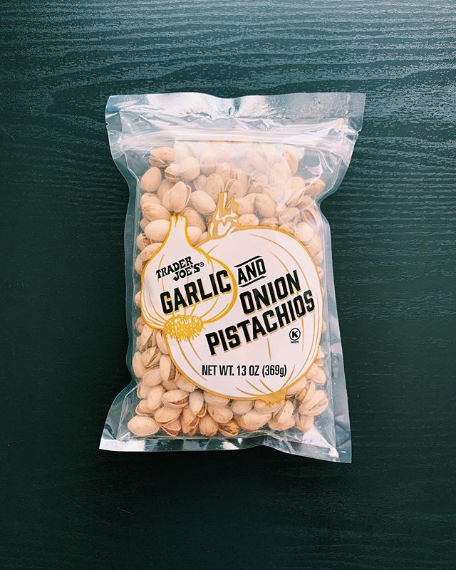 Trader Joe's Garlic and Onion Pistachios