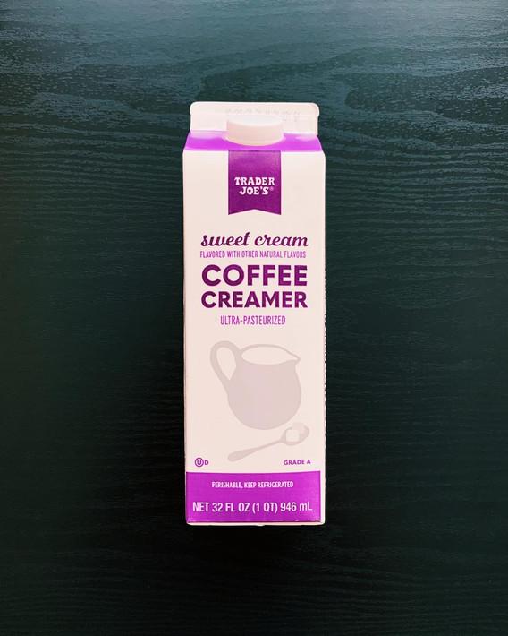 Sweet Cream Coffee Creamer: 8.5/10