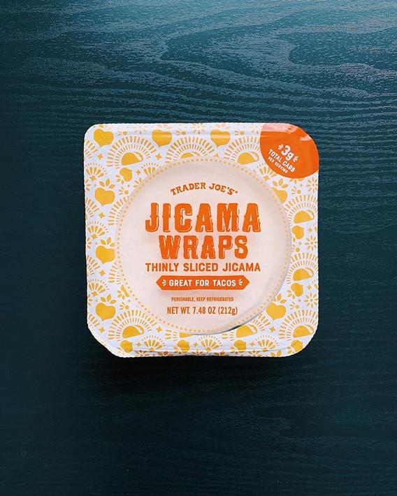 Jicama Wraps: 6/10