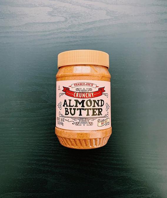 Crunchy Almond Butter: 8/10