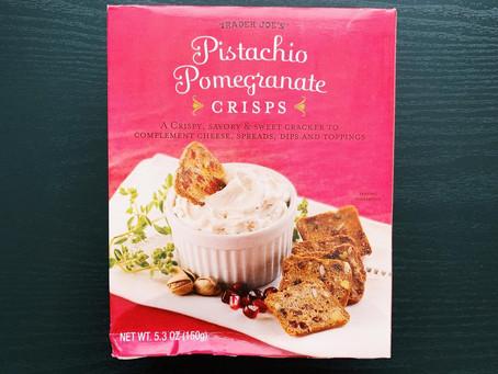 Trader Joe's Pistachio Cranberry Crisps Review