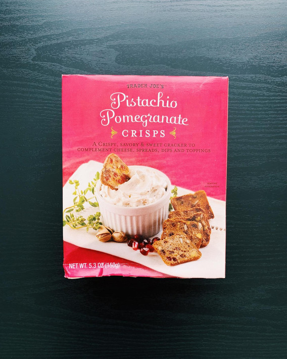 Pistachio Pomegranate Crisps: 8/10