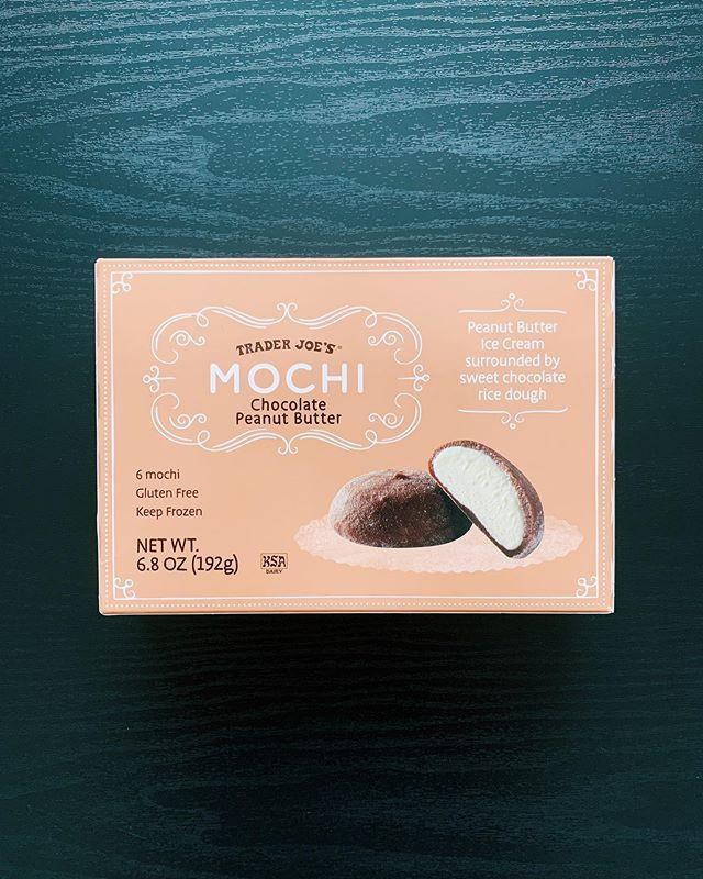 Trader Joe's Peanut Butter Chocolate Mochi