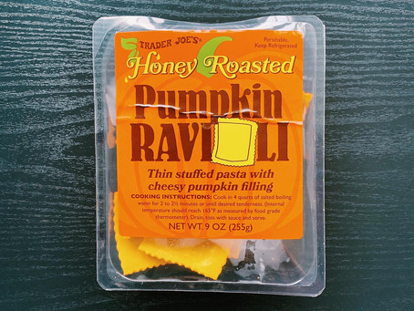 Trader Joe's Honey Roasted Pumpkin Ravioli Review