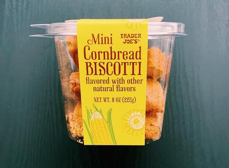 Trader Joe's Mini Cornbread Biscotti Review
