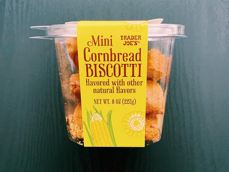Trader Joe's Mini Cornbread Biscotti Review