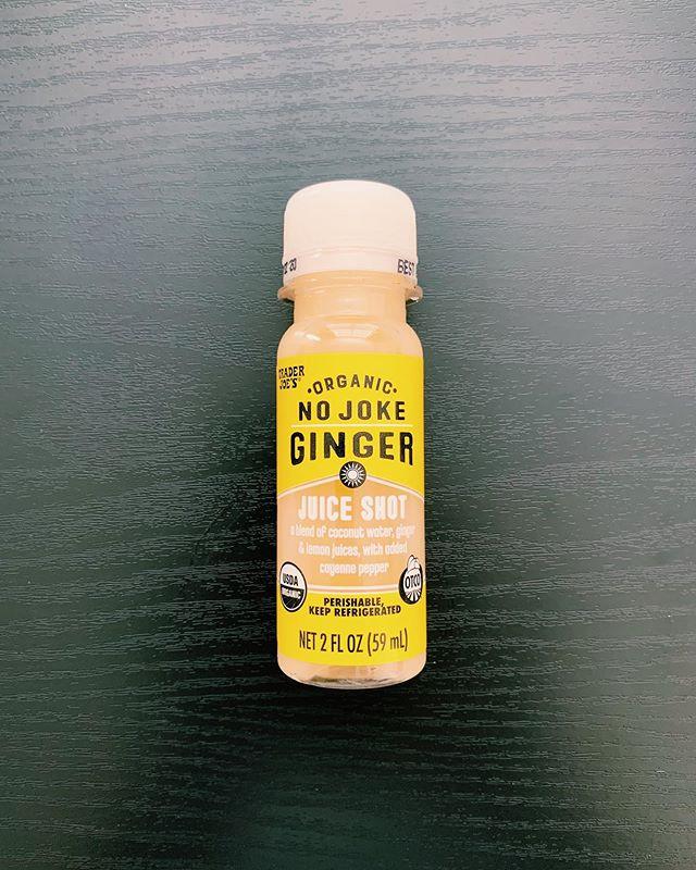 No Joke Ginger Shot: 8/10