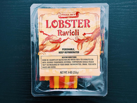 Trader Joe's Lobster Ravioli Review