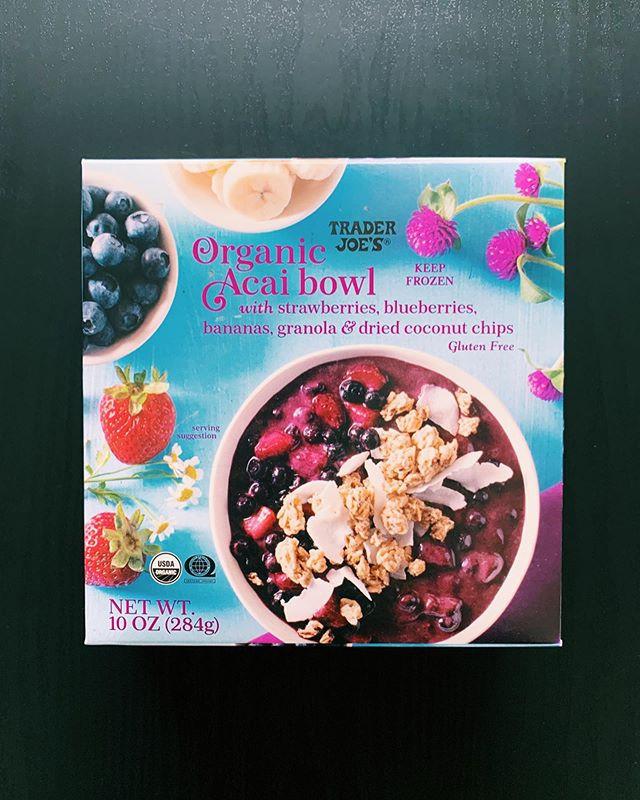 Trader Joe's Organic Acai Bowl