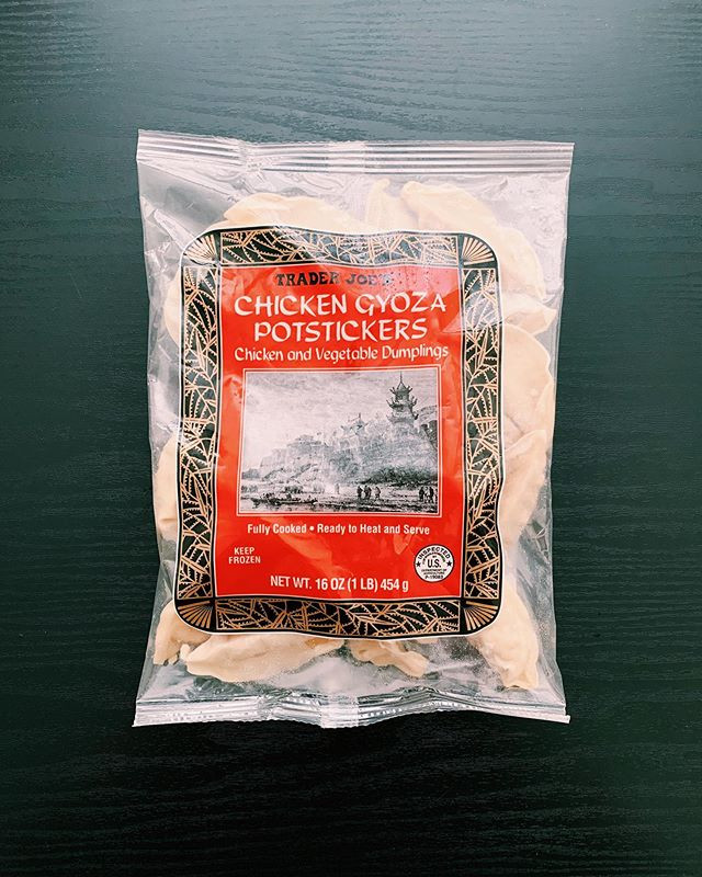Chicken Gyoza Potstickers: 9/10