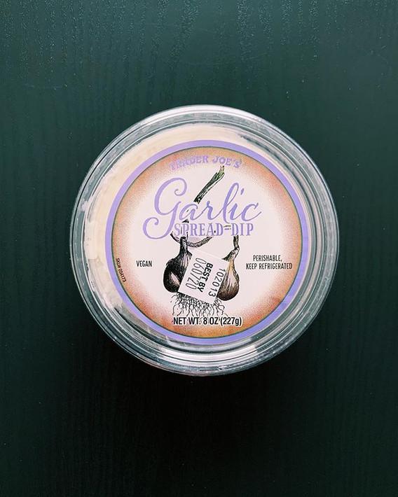 Garlic Spread Dip: 7/10